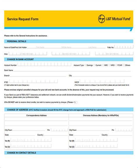 service forms in pdf 39 sle service forms in pdf sle templates