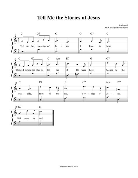 pin by kiboomu kids songs on kids songs pinterest tell me the stories of jesus free printable sheet music