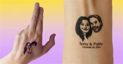 where can you get henna tattoos you can get personalised temporary wedding favours
