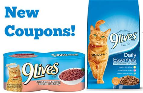 printable 9 lives cat food coupons new 9 lives coupons