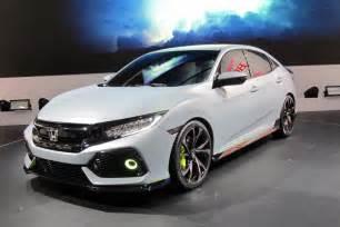 image 2017 honda civic hatchback prototype 2016 geneva