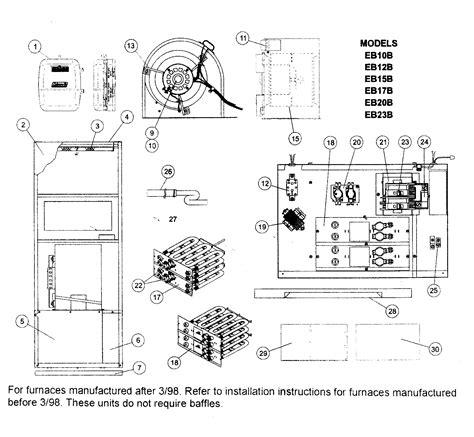 coleman furnace blower motor schematic free