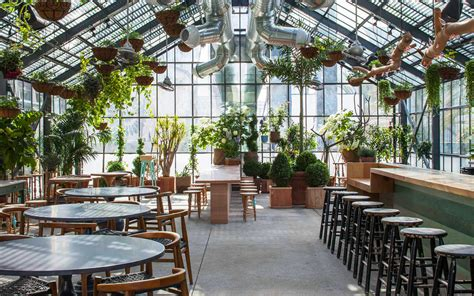design hub greenhouse cafe la s koreatown greenhouse the line hotel s commissary
