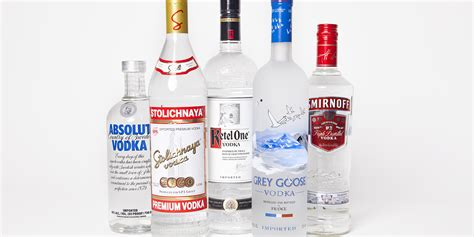 top 10 vodka drinks what s the best tasting vodka in america taste test huffpost