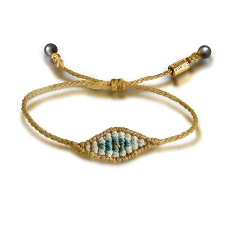 evil eye bracelet rumi sumaq macrame jewelry handmade in