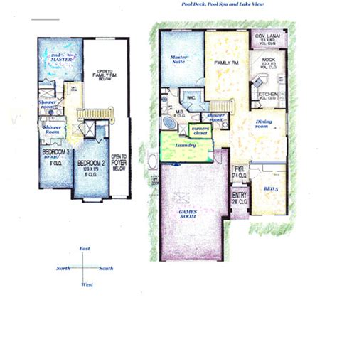 orange lake resort floor plans floor plan of winter haven villa at lake berkley resort
