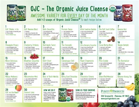 30 Day Fruit And Vegetable Juice Detox by Certified Organic Juice Cleanse Ojc Apple