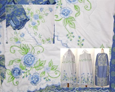 Mukena Ayu Thing Thing mukena batik komplit lilacshop