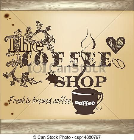 coffee shop graphic design eps vectors of design of coffee shop poster cute design