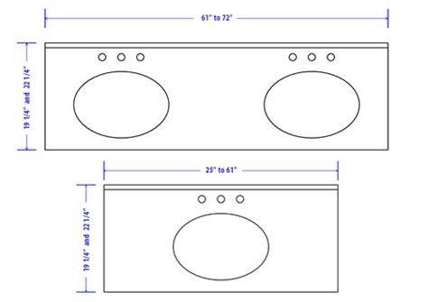 bathroom the standard dimensions uk rukinet regarding sink
