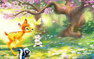 walt disney characters images walt disney wallpapers bambi hd wallpaper background photos