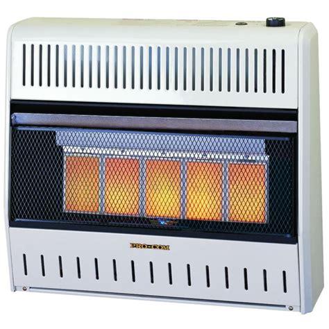 procom radiant vent free heater mnsd5tpa 30 000 btu procom infrared plaque thermostat
