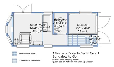 tiny houses on wheels floor plans and comfortable