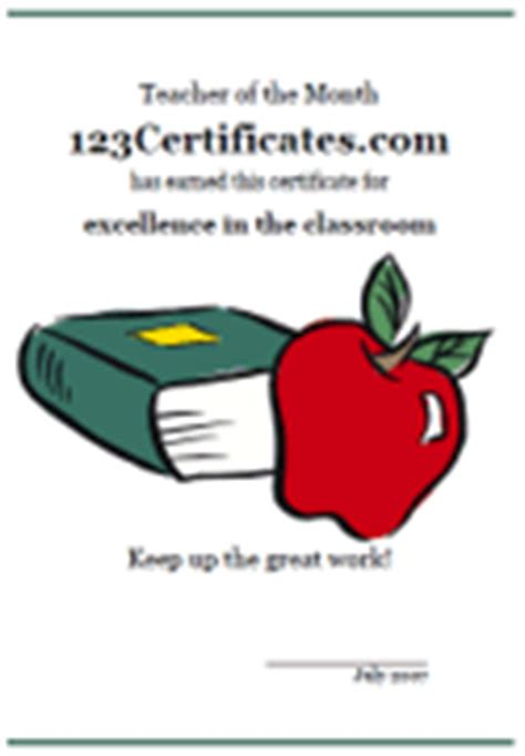 printable certificates for teachers teacher certificate