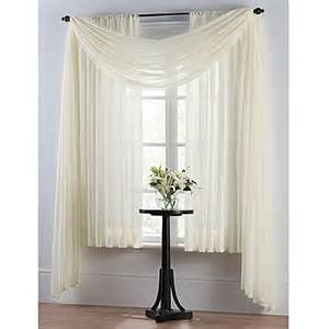 Window Sheer Curtains Smart Sheer Insulating Voile Window Curtain Panel Bed Bath Beyond