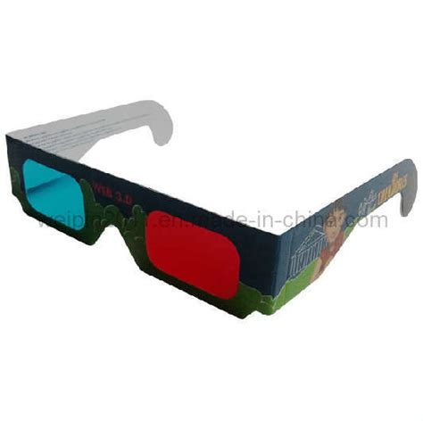 How To Make 3d Glasses With Paper - china cyan paper 3d glasses china cyan 3d