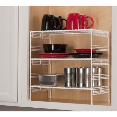 Kitchen Helper Shelves Grayline 40916 Large Adjustable Cabinet Helper