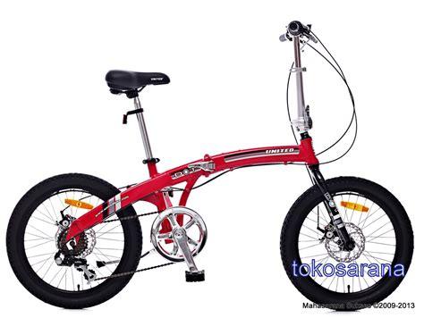 Sepeda Lipat 20 United Dot tokosarana jakarta jatinegara mahasarana sukses bandung
