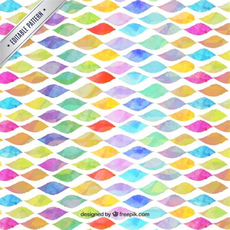 watercolor pattern download watercolor waves pattern vector free download