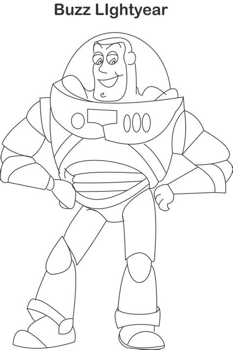 Buzz Lightyear Coloring Pages Buzz Lightyear Coloring Buzz Lightyear Coloring Pages Free