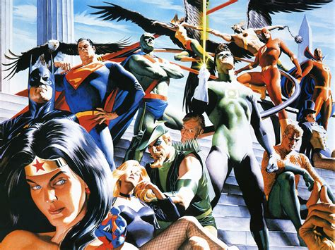 absolute justice league the kingdom come precinct1313