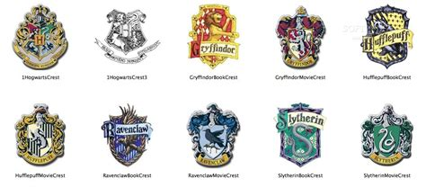 houses of harry potter harry potter houses logo images
