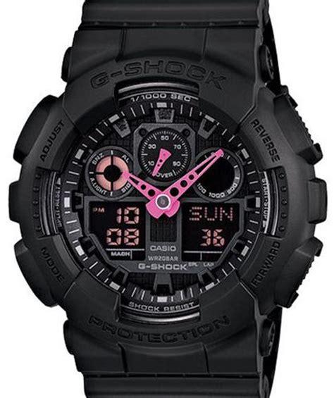 Gshock Baby G Black Pink casio g shock wrist watches g shock black pink neon