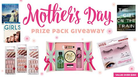 Mother Day Contests And Giveaways 2017 - mother s day prize pack giveaway valued over 250 171 celebrity gossip and movie news