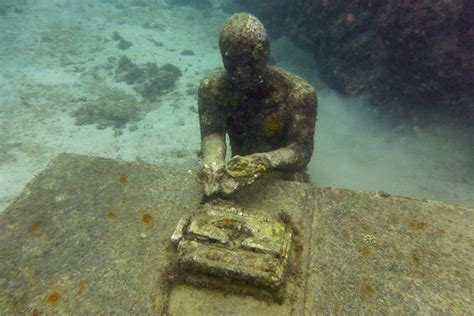 glass bottom boat grenada seeking scuba sculpture and spice in grenada