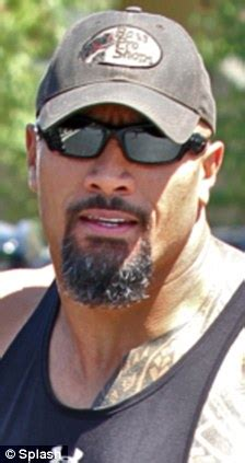 dwayne the rock johnson beard the rock loses the groomed look and grows a grizzly