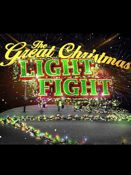 the great christmas light fight tv show news videos
