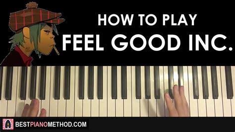 tutorial piano feeling good how to play gorillaz feel good inc piano tutorial
