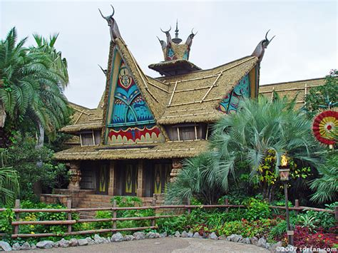 Tiki Hut Disneyland by The Enchanted Tiki Room Tokyo Disneyland