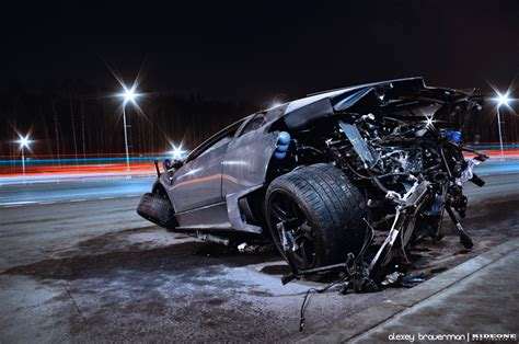 lamborghini reventon crash dead lambo lp640 by braver art on deviantart
