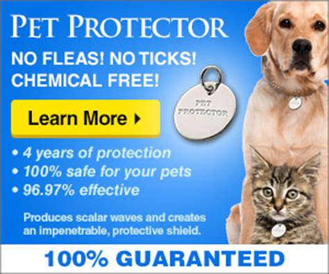 Pet Protector with one pet protector your pet is safe for 4 years