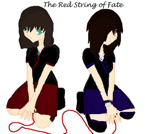 String Of Fate - the string of fate by born alive on deviantart
