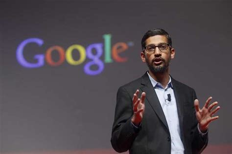 Sundar Pichai Mba In by Sundar Pichai Is The Person With Highest Qualified Resume