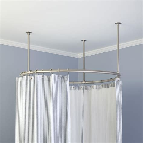 oval shower curtains oval shower curtain for clawfoot tub curtain menzilperde net