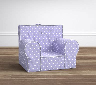 Pottery Barn Anywhere Chair Knock by Lavender Anywhere Chair 174 Pottery Barn