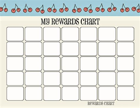 printable charts for toddlers printable reward chart template activity shelter