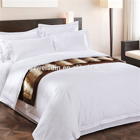 hotel bedding suppliers china supplies white sateen cotton luxury hotel bedding