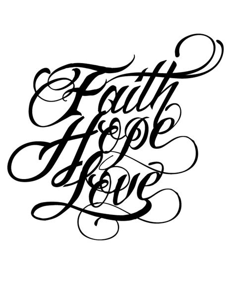 faith tattoo designs tattoo collections