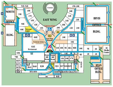 map us capitol building plan a visit pa capitol