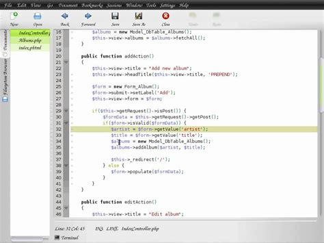 zend framework 2 layout tutorial zend framework 1 8 tutorial 1 mvc basics youtube