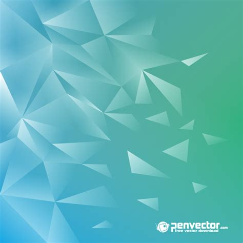 wallpaper tosca lowpoly modern background green tosca free vector