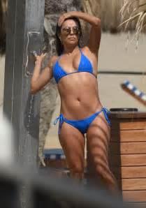 Eva longoria looks sensational as she shows off perfect bikini body on
