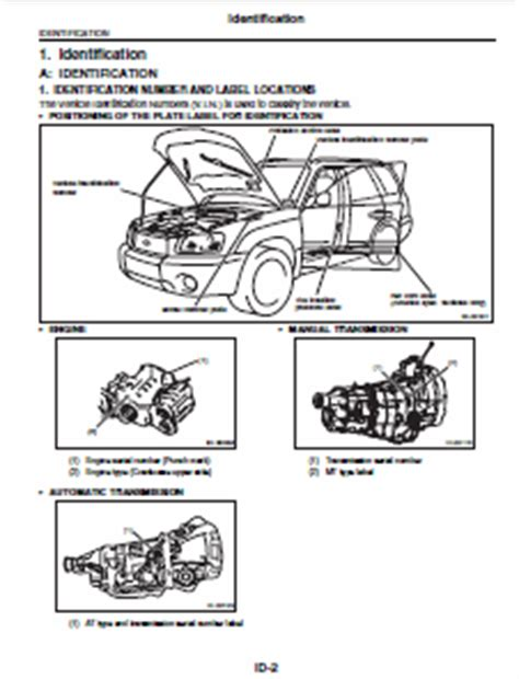 car repair manuals online pdf 2011 subaru impreza instrument cluster subaru impreza 2007 service manual car service manuals