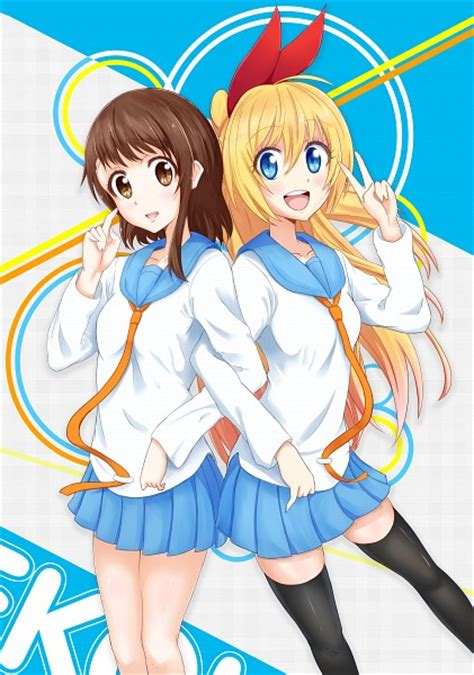 Kaos Anime Fullprint Nisekoi Chitoge Kirisaki 1 nisekoi mobile wallpaper 1962551 zerochan anime image board