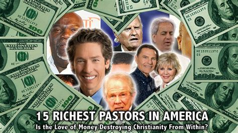 a for all time vs american 15 richest pastors in america is the of money