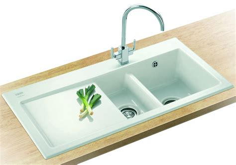 Ceramic Inset Sink by Franke Mythos Mtk 651 Ceramic 1 5 Bowl Kitchen Inset Sink